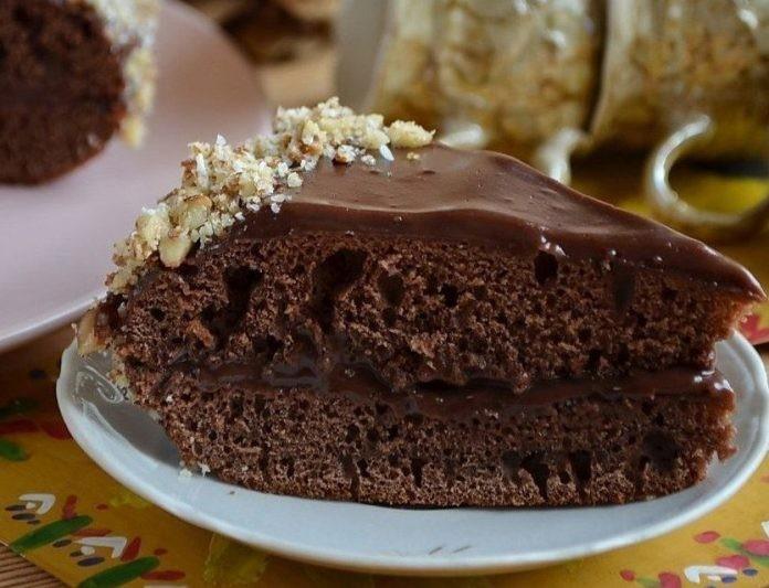 Самый быстрый и вкусный шоколадный тортик в мультиварке