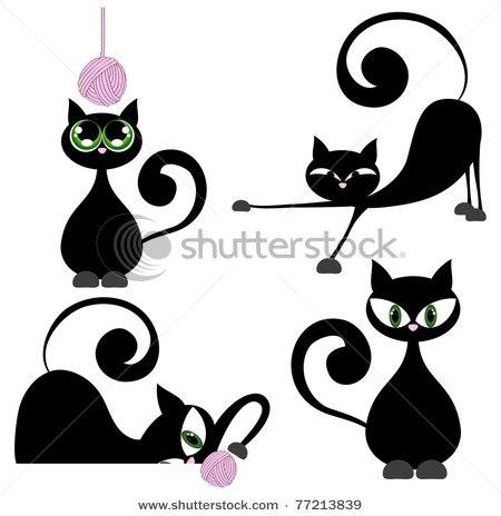 Трафареты кошек!