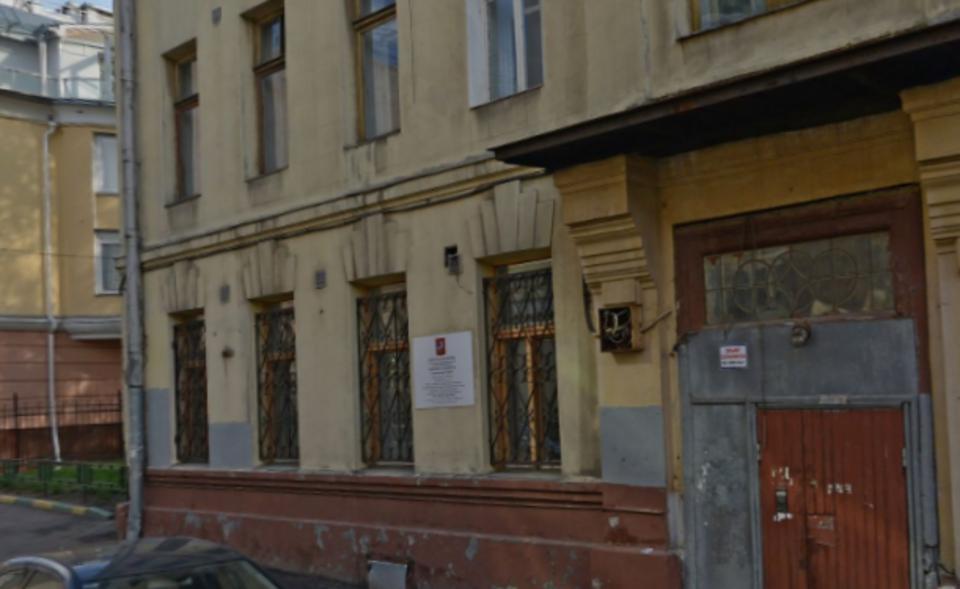 В центре Москвы обрушился до…