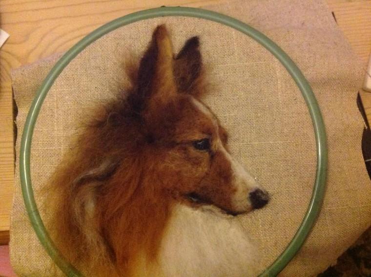 Собаки из фетра, которых не отличишь от настоящих