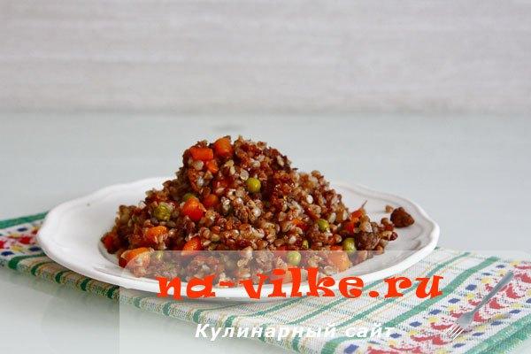 Гречка с овощами в мультиварке редмонд рецепт с фото