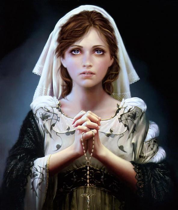 Виды молитв для снятия с себя порчи...