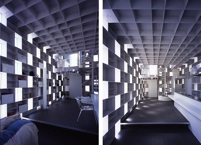 Невероятный интерьер дома в жилом комплексе Cellbrick