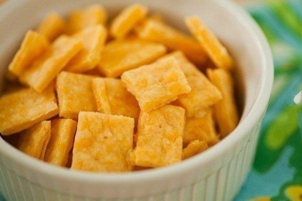 Сырные крекеры «Квадратики»