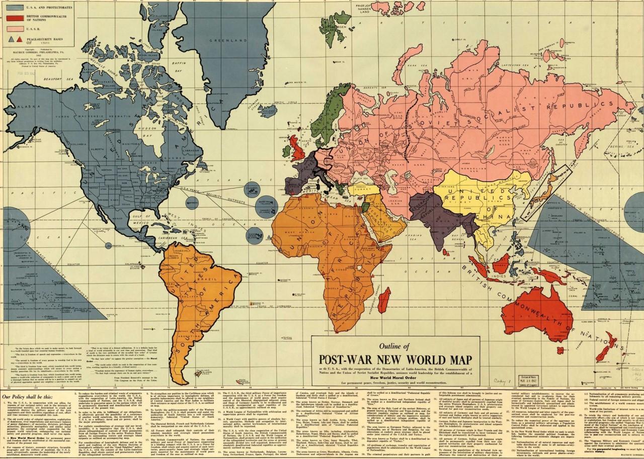 Контуры послевоенного мира
