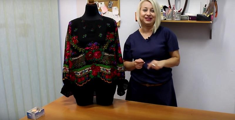 Блуза из шелка своими руками