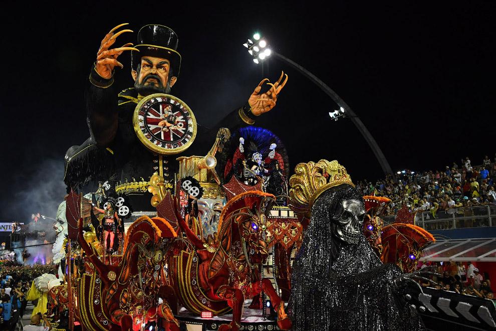 Красочные карнавалы и парады 2018 года