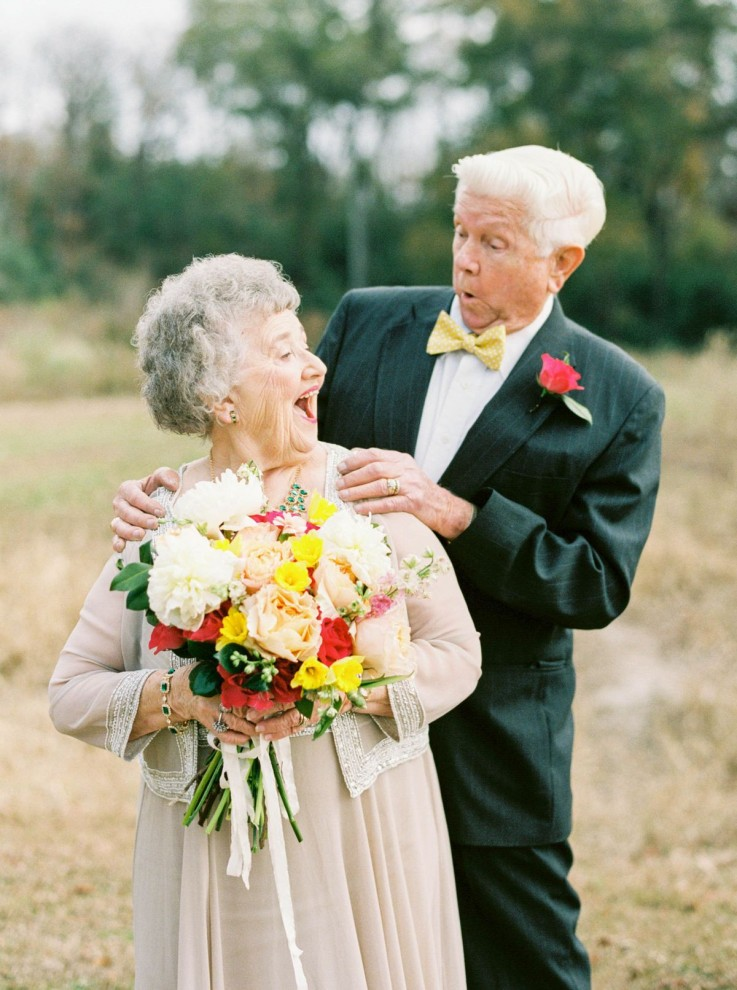 Идеи к свадьбе бабушки и дедушки