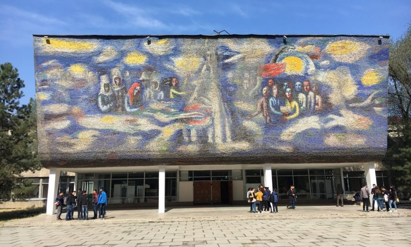 Пропавшие мозаика и фрески: потерянное советское искусство в мире, города, искусство, мозаика, своими руками, художники