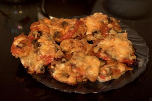 Блюдо быстрого реагирования - мясо с припеком