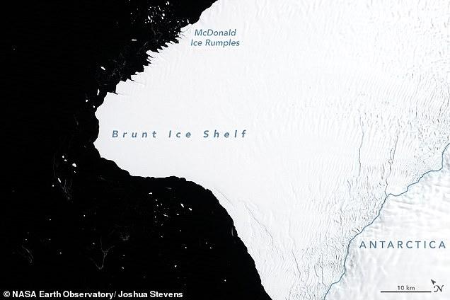 В Антарктиде от ледника Бран…