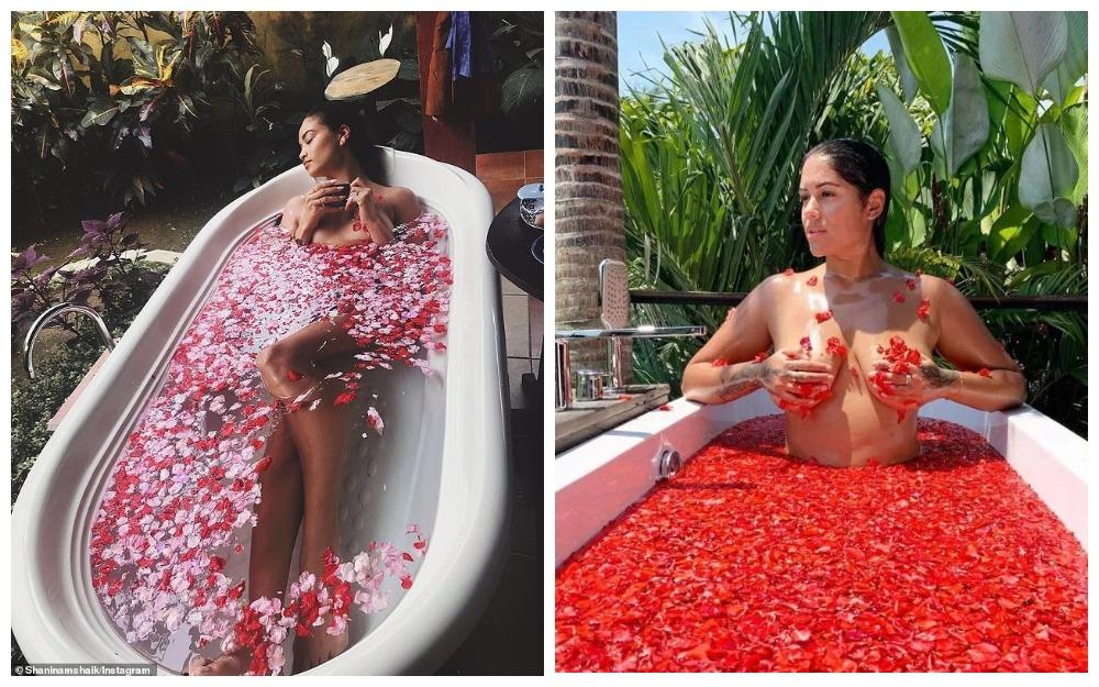 Цветочный соблазн: горячие инстаграм-красотки фотографируются обнаженными среди лепестков