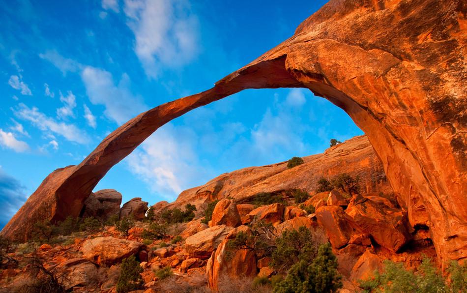"""Скала """"Арка"""" - национальный памятник штата Юта геология, история с географией, красота, скалы"""