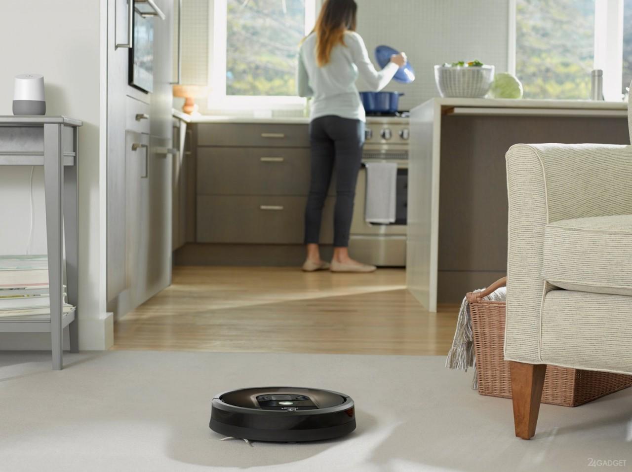 Робот-пылесос Roomba превратится в шпионящего помощника