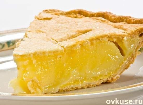 Не могу удержаться от соблазна приготовить этот лимонный пирог! Самая летняя выпечка