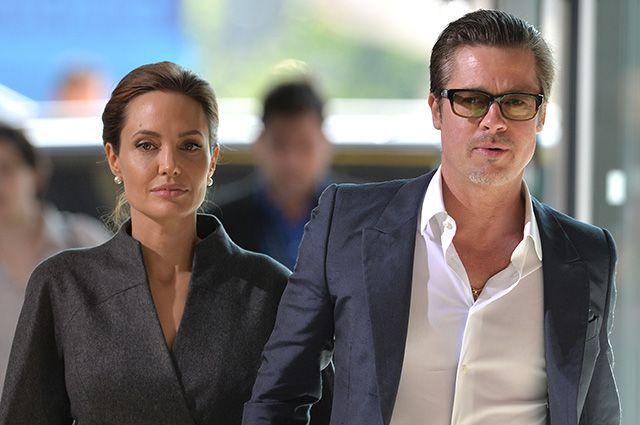 Анджелина Джоли и Бред Питт: таки женаты