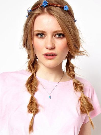 Как называется веревка на голову для прически