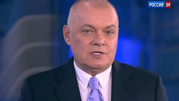 Телеведущий Дмитрий Киселев …