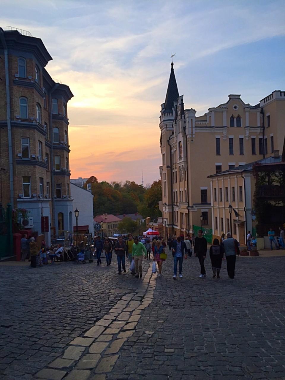 Икра  из цветной капусты. И прогулка по Киеву