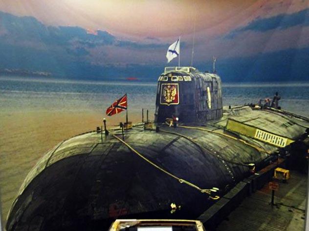 все данные о подводной лодке курск