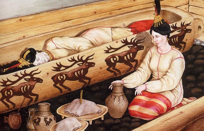 Мумию алтайской принцессы Укока решено захоронить