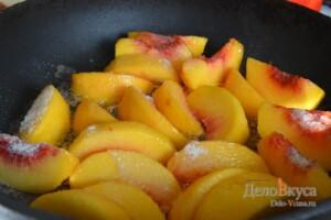 Карамелизированные персики. Начинка из персиков: фото к шагу 4