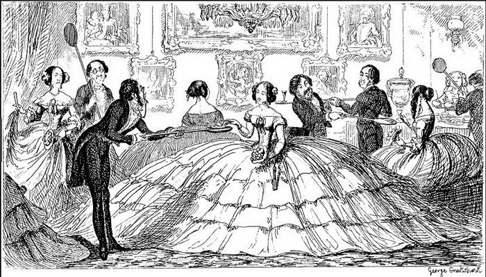 Немного об истории моды — спасительный кринолин