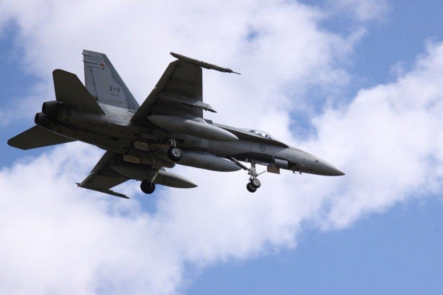 Натовский истребитель F-16 опасно приблизился к самолету Шойгу ...
