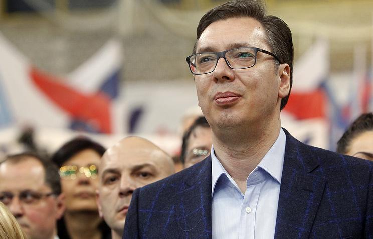 Вучич заявил, что не позволит превратить Сербию в Украину