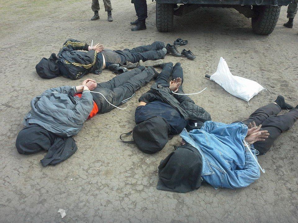 Жертвы бандеровцев в Славянске