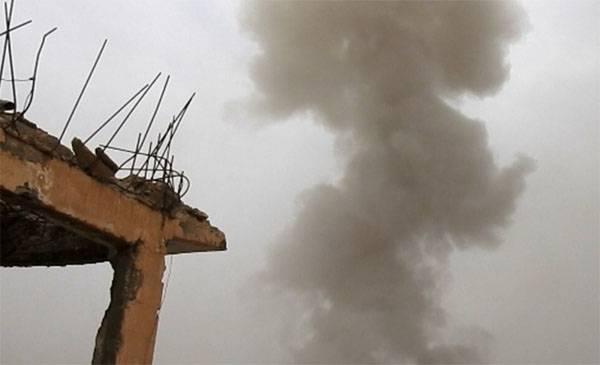 Американские вертолёты перед наступлением САА вывозили главарей ИГИЛ из Меядина