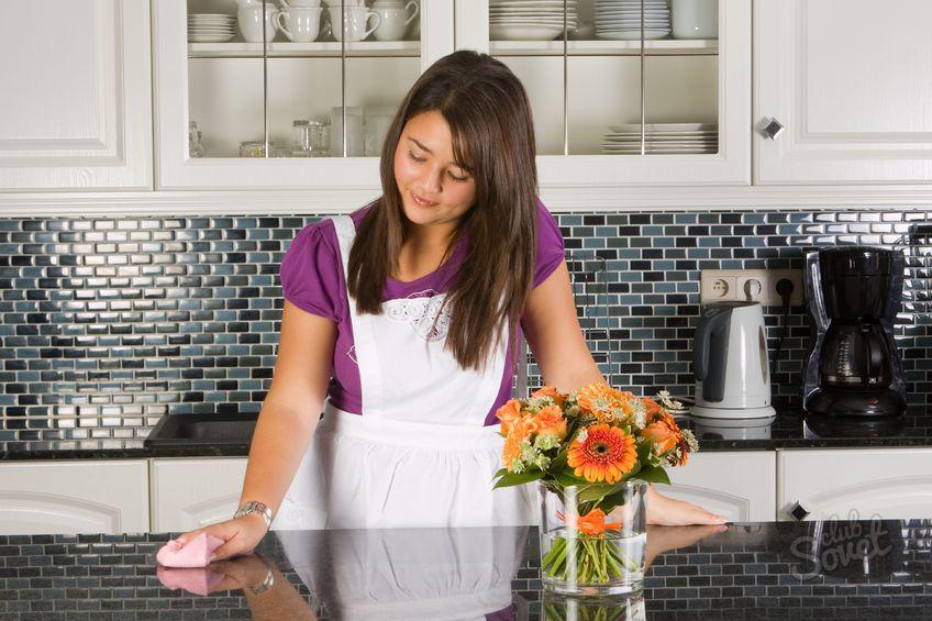 Постоянная чистота на кухне: 8 очень полезных советов