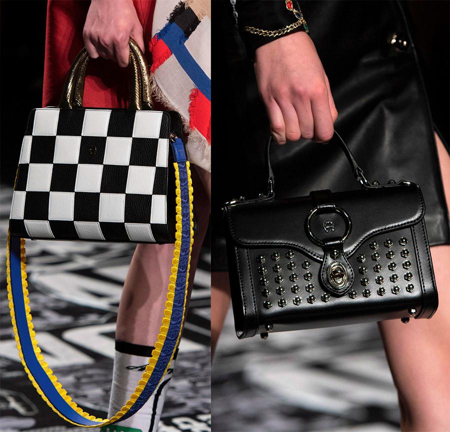 Стильные сумки и обувь с мод…