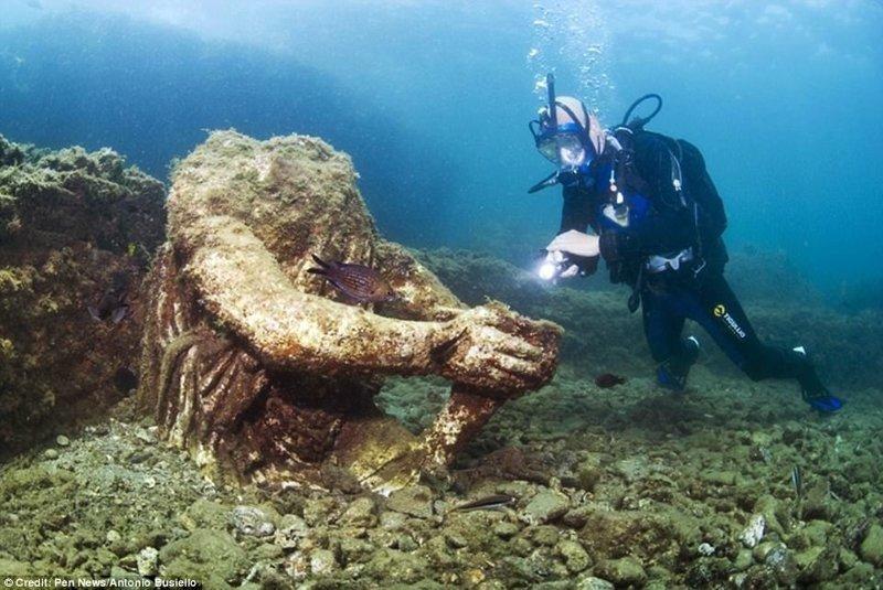 Археологи нашли под водой древнеримский Лас-Вегас