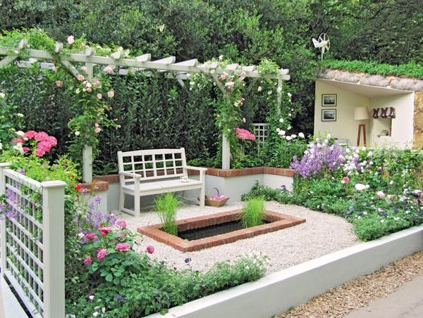 Концепции оформления сада