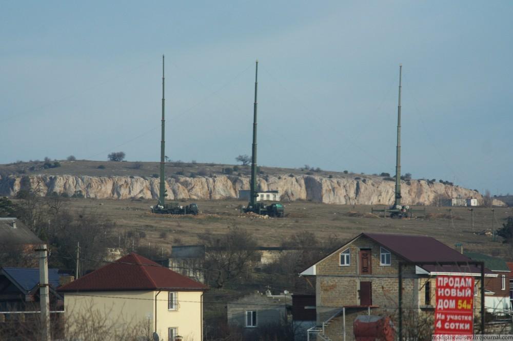 В Крыму военные развернули сверхмощный комплекс РЭБ «Мурманск-БН»