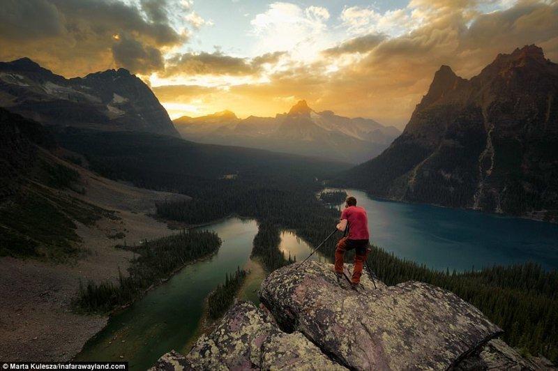 Плато Опабин вблизи озера О'хара в Канаде в мире, красивые фото, красивый вид, пейзажи, природа, путешествия, фото, фотографы