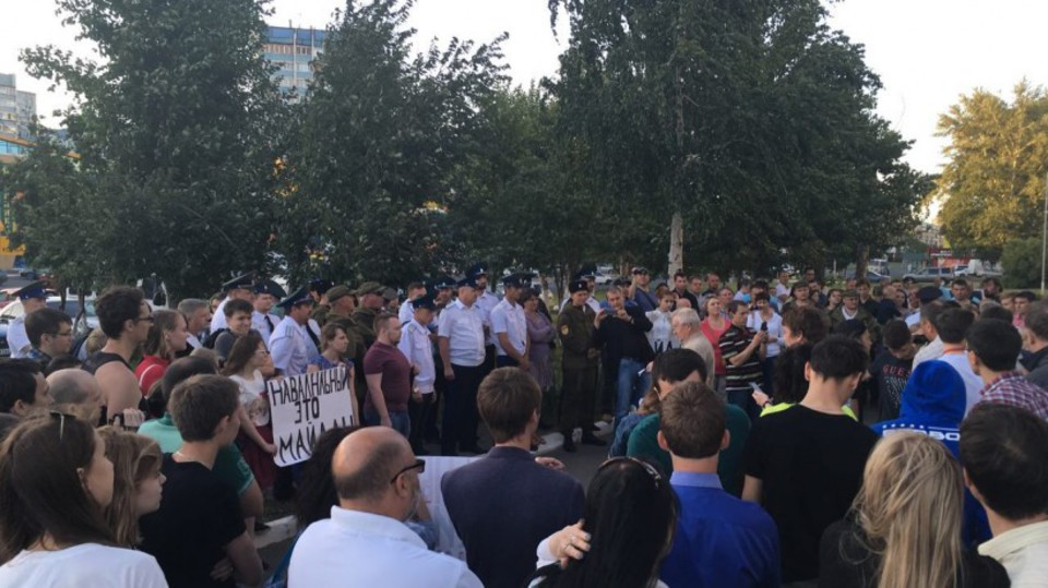 Навального не пожелали пуска…
