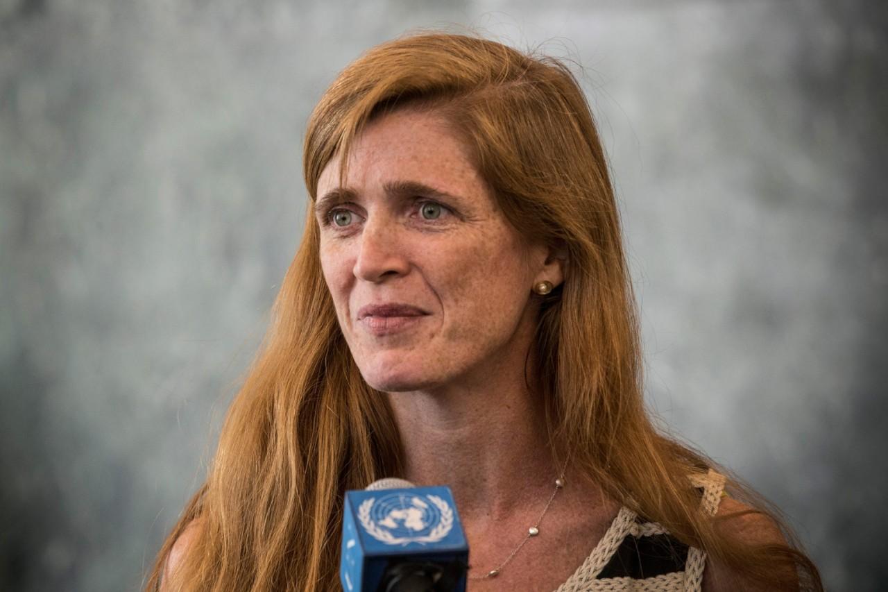 Спецпредставитель США в ООН Саманта Пауэр на связи