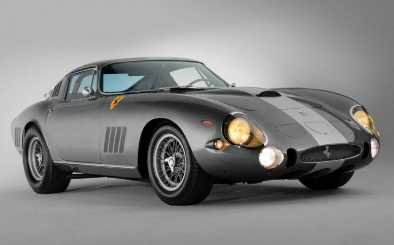 10 самых дорогих машин, проданных на аукционах