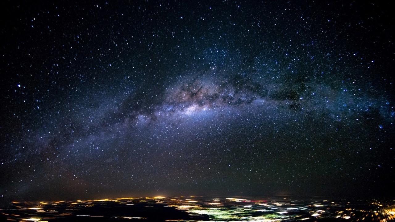 Млечный путь над Бразилией аэросъемка, кабина пилота, кабина самолета, красивые фотографии, пилот, с высоты, с высоты птичьего полета, фотограф