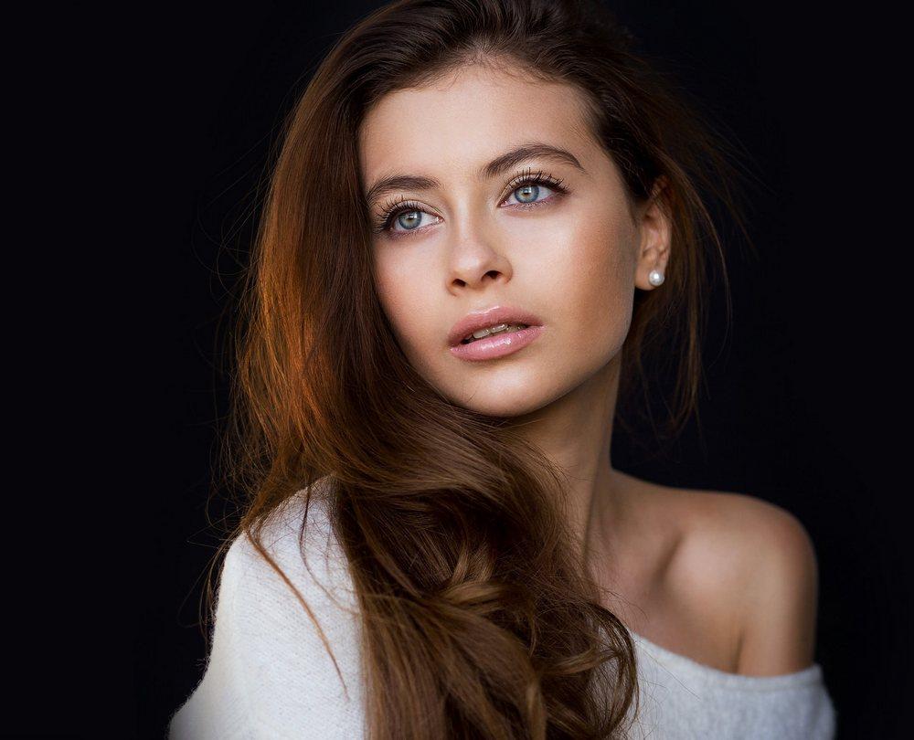 Фото женские портреты модели