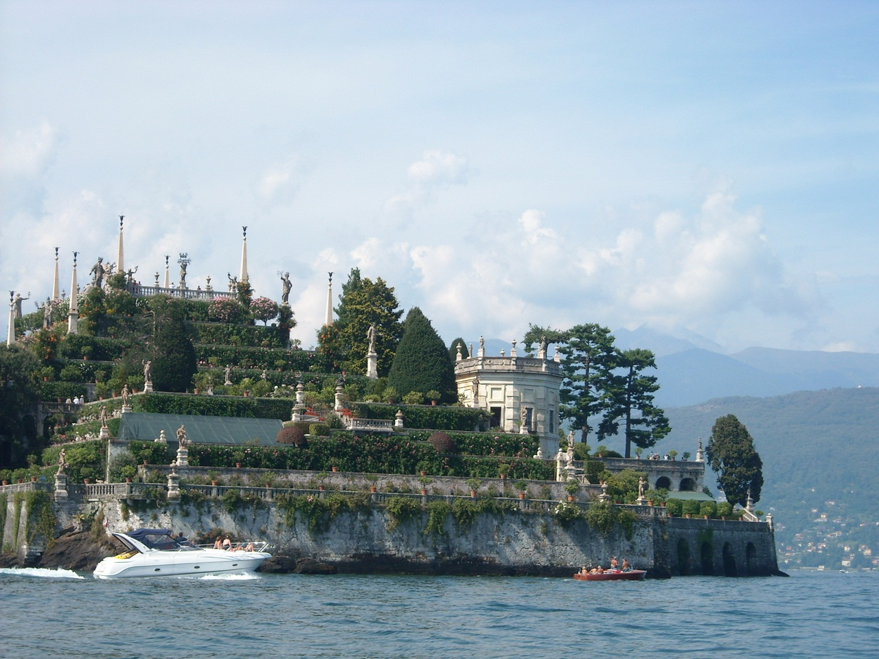 Италия.Сказочный остров Белла.Дворец Борромео.