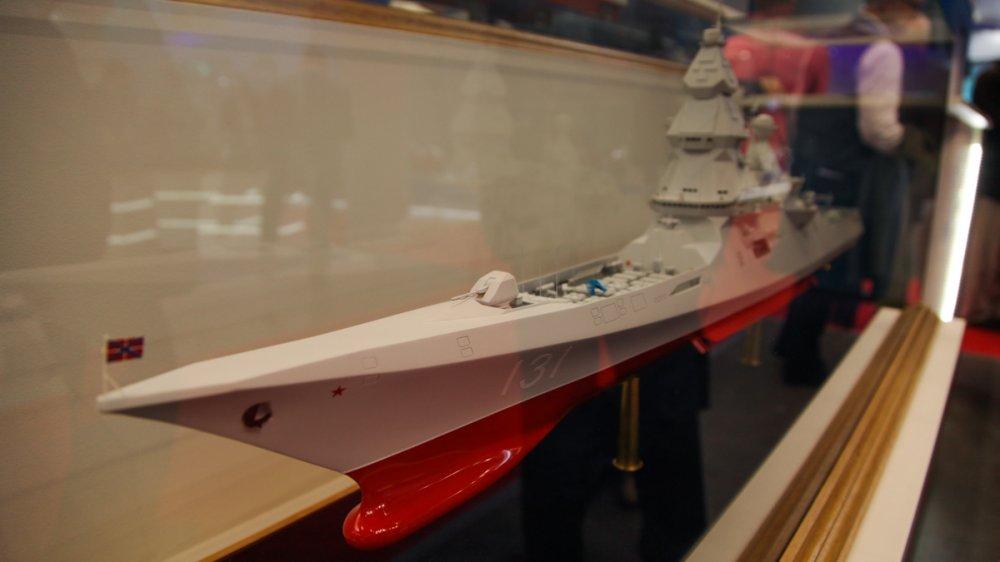 Водоизмещение перспективного эсминца для ВМФ России выросло до 19 тысяч тонн