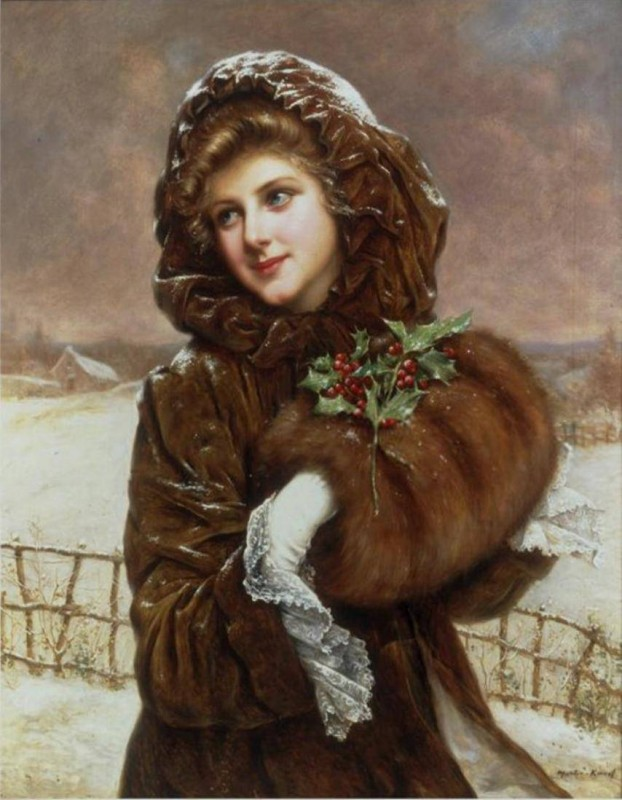 Все женщины зимой неповторимы...