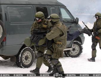 В Белоруссии обнаружили тайник с оружием в лесу под Минском