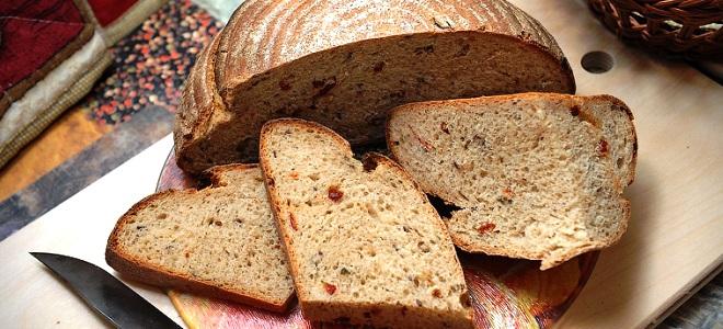 Испечь ржаной хлеб дома в духовке простой