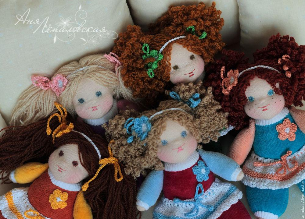 Кудряшки для вальдорфской девочки: мастер-класс