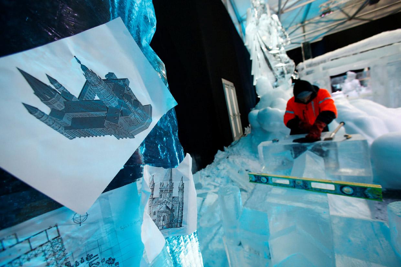 Ледяной фестиваль в Майнце