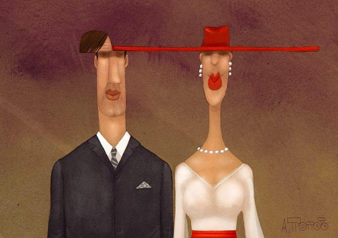 Чисто семейная история-- про гордых женщин нашего рода и про замуж по расчету...
